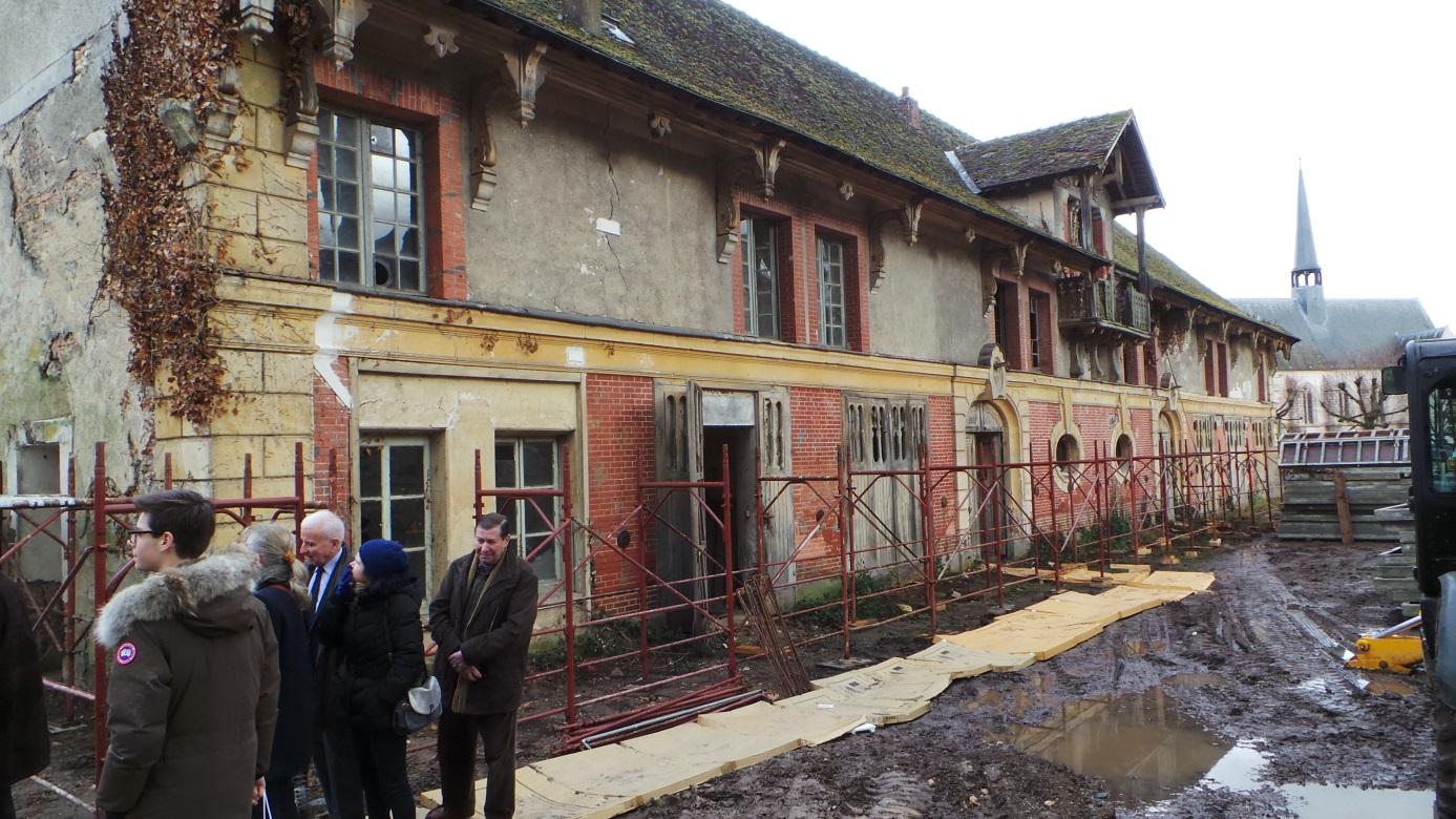 Le 14 F U00e9vrier   Visite Des Anciennes  U00e9curies Du Ch U00e2teau De