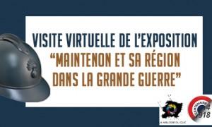 Visite virtuelle de l'exposition «Maintenon et sa Région dans la Grande Guerre»