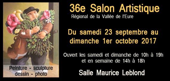 36e Salon Artistique Régional de la Vallée de l'Eure