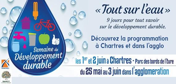 Semaine du développement durable «Tout sur l'eau»