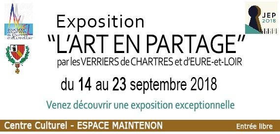 JEP 2018 – Exposition «l'Art en Partage»