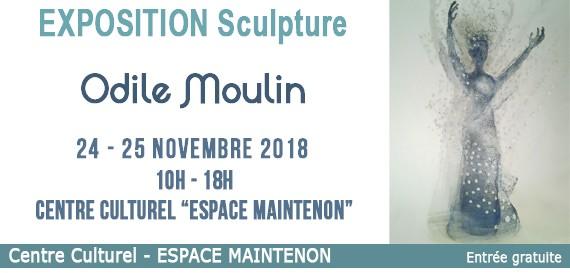 Exposition de sculptures d'Odile MOULIN