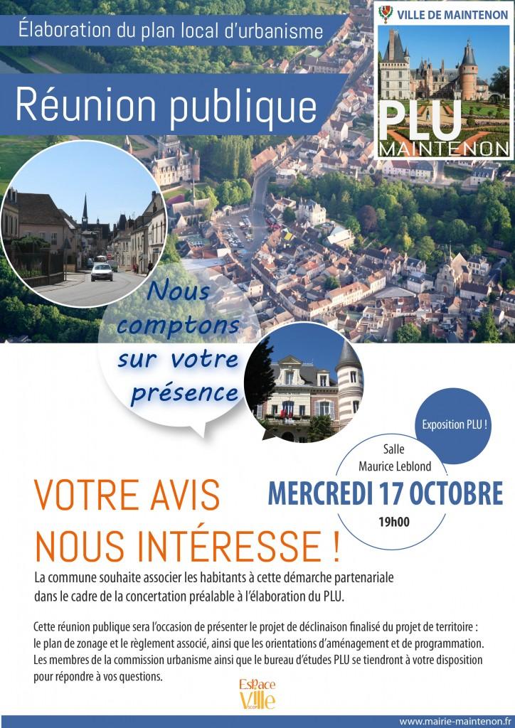 Flyer Réunion publique finalisation