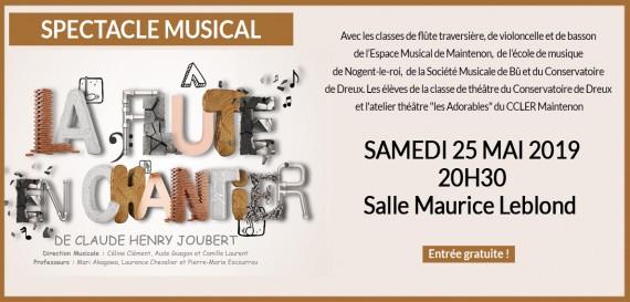 Concert «La Flûte en Chantier»