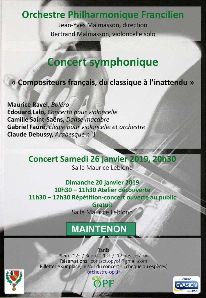 Orchestre Philarmonique Francilien Jean-Yves Malmasson, directio
