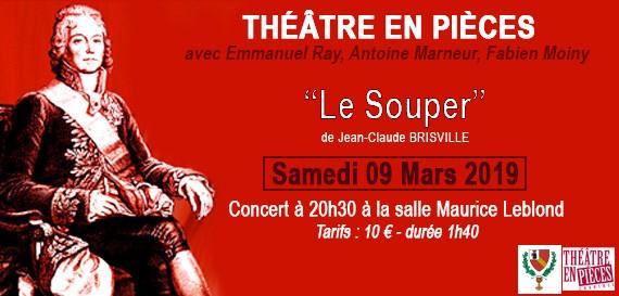 Théâtre en pièces «Le Souper»