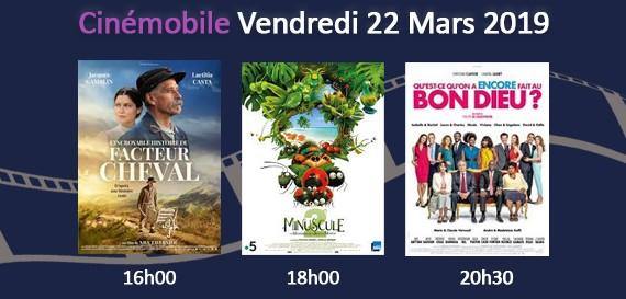 Cinémobile – Vendredi 22 mars 2019