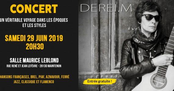 Concert de Martine Dereï