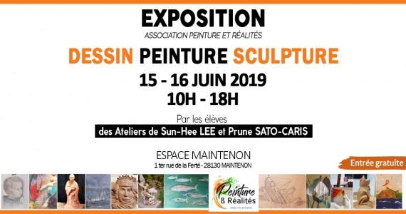 Exposition dessin peinture et sculpture
