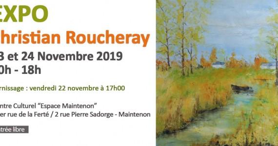 Exposition de peinture – Christian Roucheray