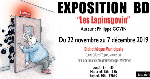 Exposition BD «Les Lapinsgovin»