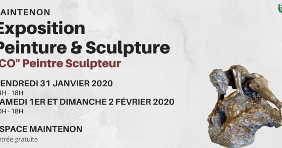 Exposition peinture et sculpture «Co»