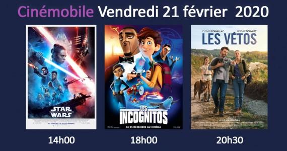 Cinémobile – Vendredi 21 février 2020