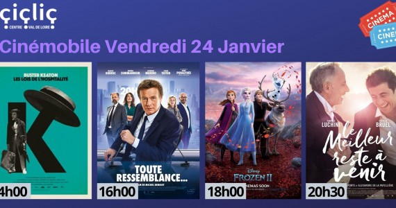 Cinémobile – Vendredi 24 janvier 2020