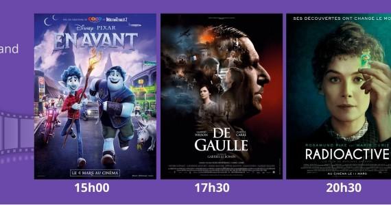 Cinémobile – Vendredi 17 juillet 2020