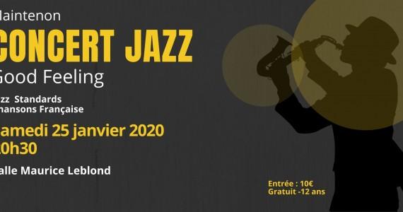 Concert de Jazz «Good Feeling»