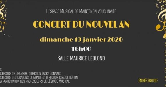 Concert du Nouvel An de l'Espace Musical