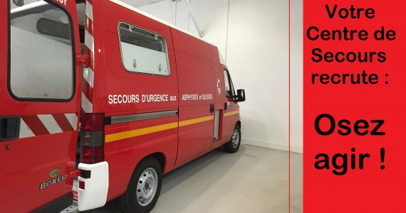 De l'évolution dans le recrutement des sapeurs-pompiers volontaires !