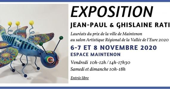 Exposition sculpture et peinture