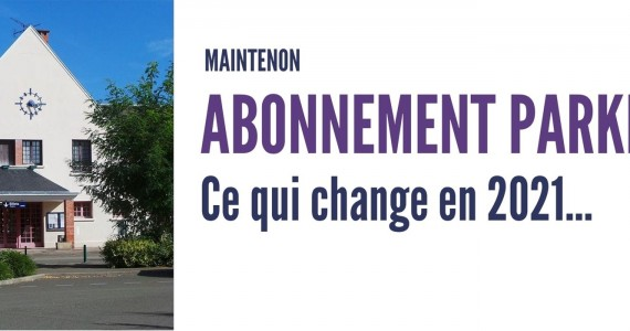 Abonnement parking – Ce qui change en 2021…