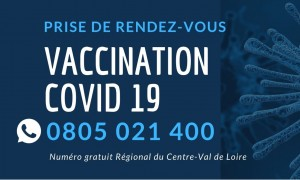 Centre de vaccination COVID19 Chartres Metropole