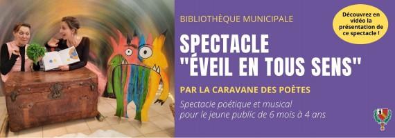 Spectacle «Eveil en tous sens» – Caravane des Poètes